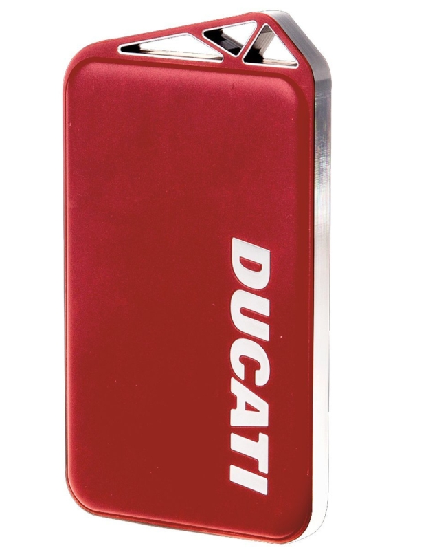 Ducati Power Bank with Aluminum Case for Smartphones