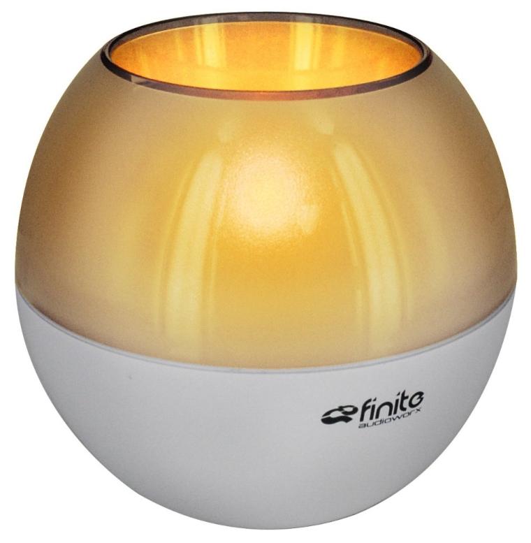 Finite Audioworx RoqLite Wireless Bluetooth Speaker with Flickering Light