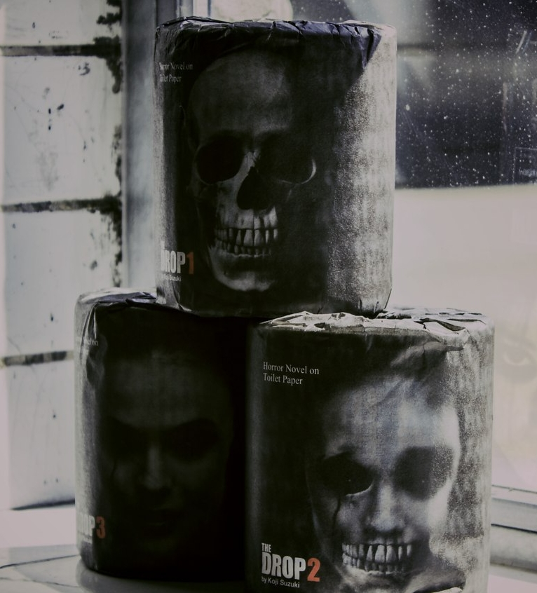 Horror Novel Toilet Roll