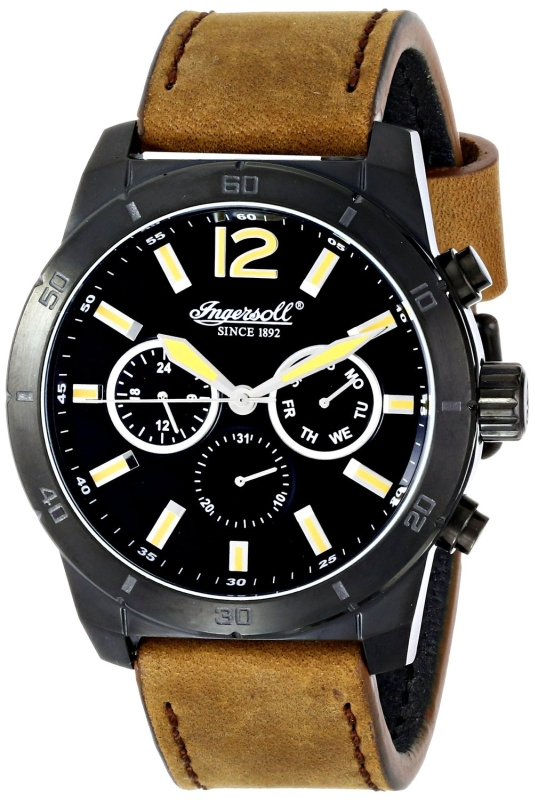Ingersoll Mens Quartz Brown Watch