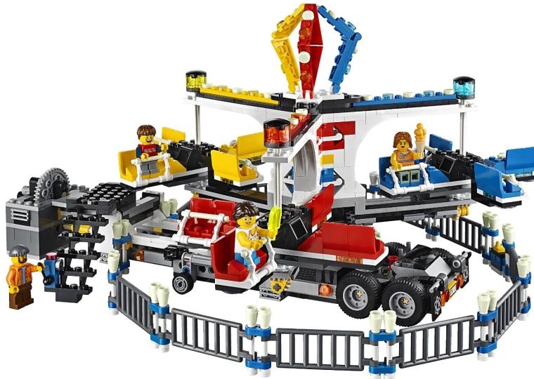 LEGO Creator Expert 10244 Fairground Mixer