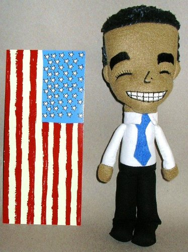 President Barack Obama Designer Plush Figure