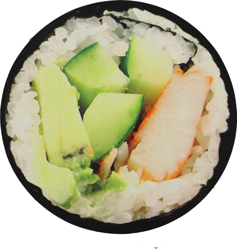 Sushi Photo Circular Doormat