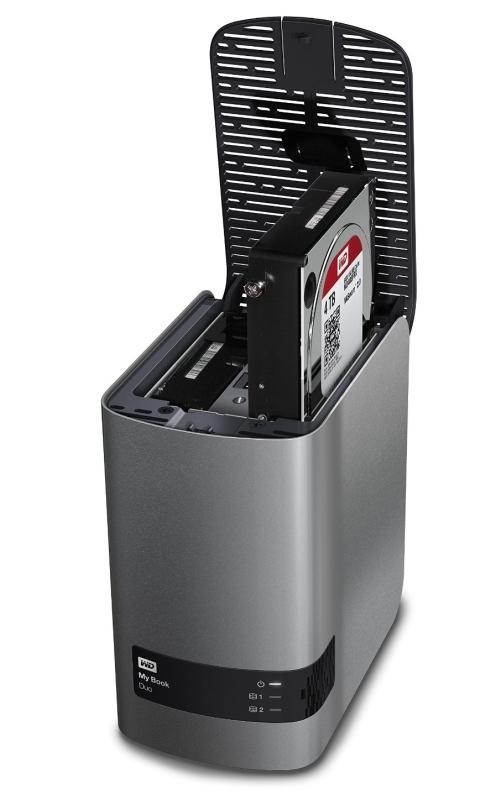 WD My Book Duo 8TB dual-drive, high-speed premium RAID storage