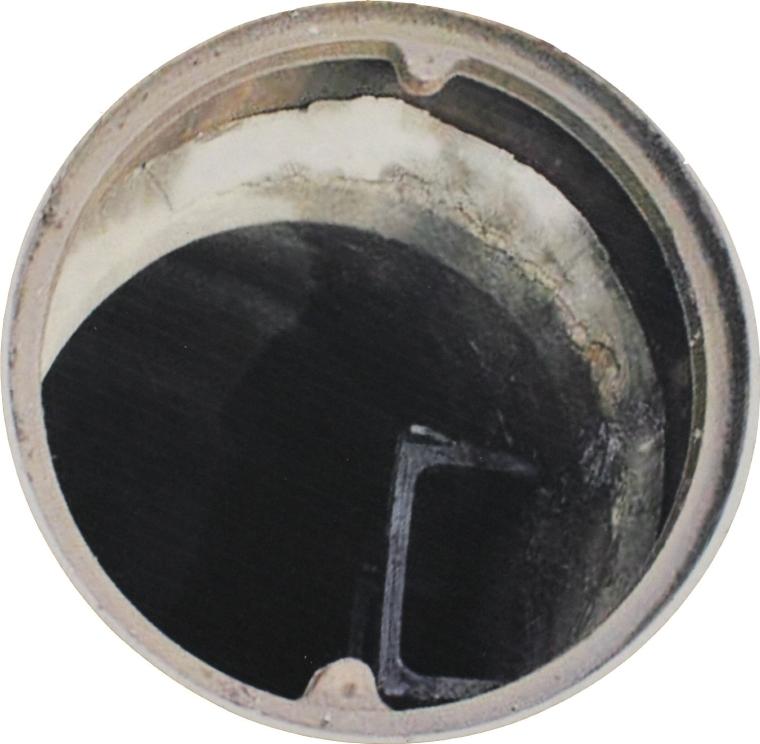 Man Hole Photo Circular Doormat