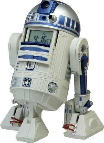 Star Wars R2 D2 Action Alarm Clock 7 Gadgets