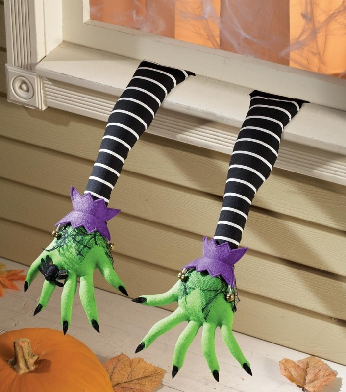 Pair Of Witch Arms Halloween Decoration