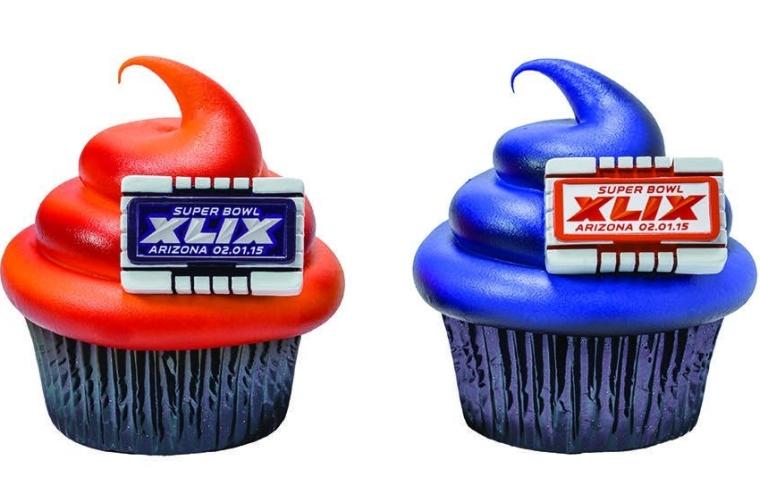 Arizona 2015 NFL Super Bowl XLIX Stadium Cupcake Rings