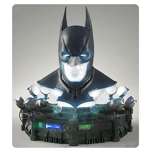 Batman Arkham Origins Cowl Full Scale Prop Replica