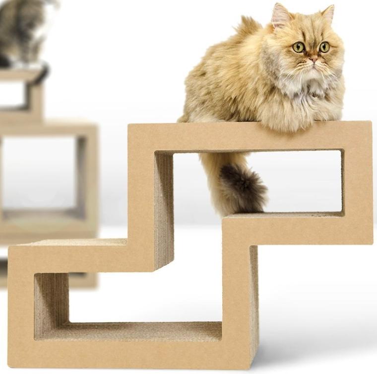 Cat Scratcher Modular Furniture 7 Gadgets