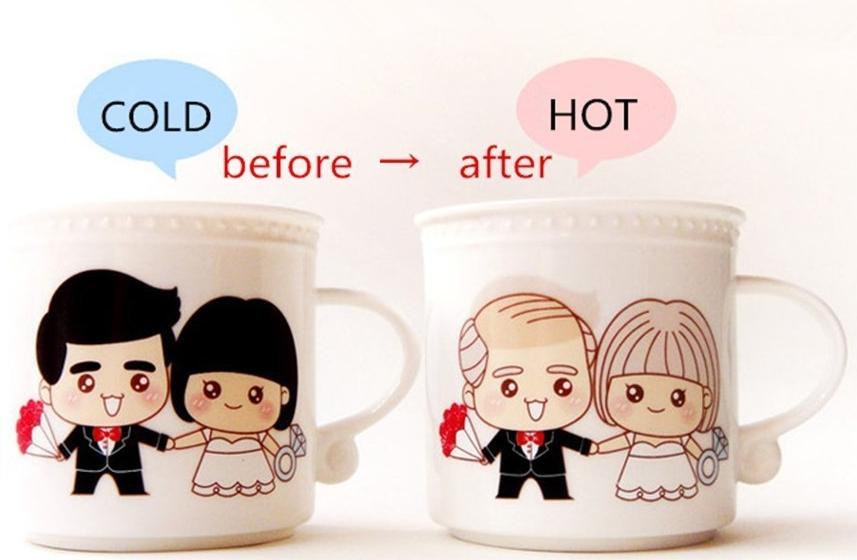 Color Changing Coffee Cup Morning Mug