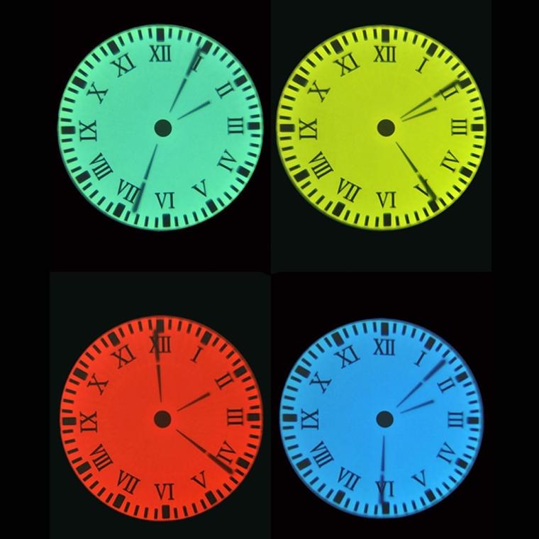 Color LED Digital Wall  Desk Projection Clock