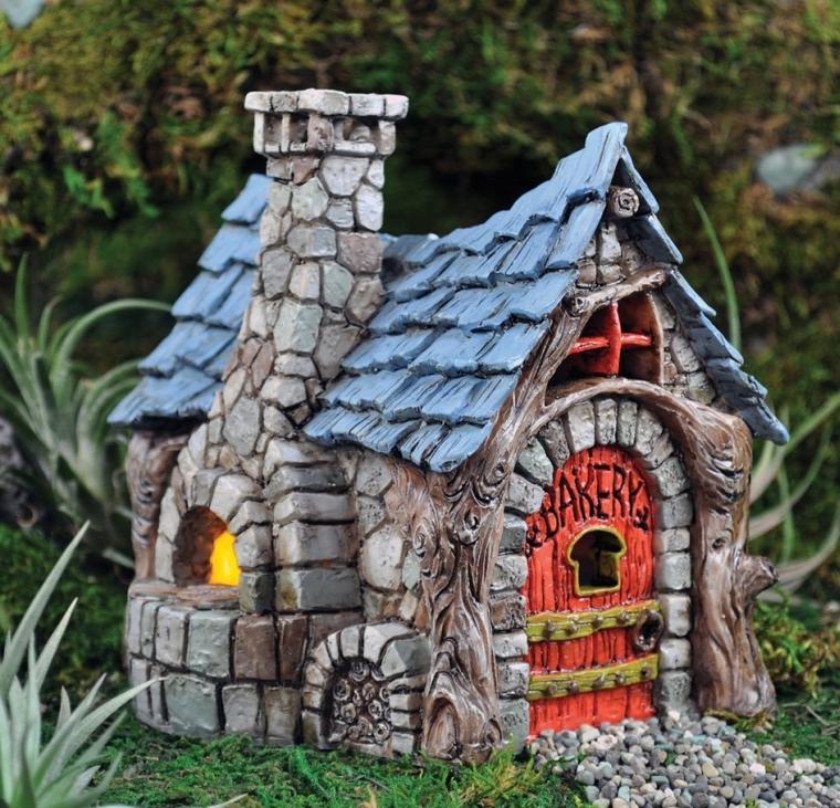 Fairy (House  Home) Garden Village Bakery