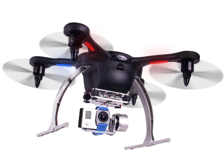 Ghost GPS RC Quadcopter with HD Camera MobilePhone