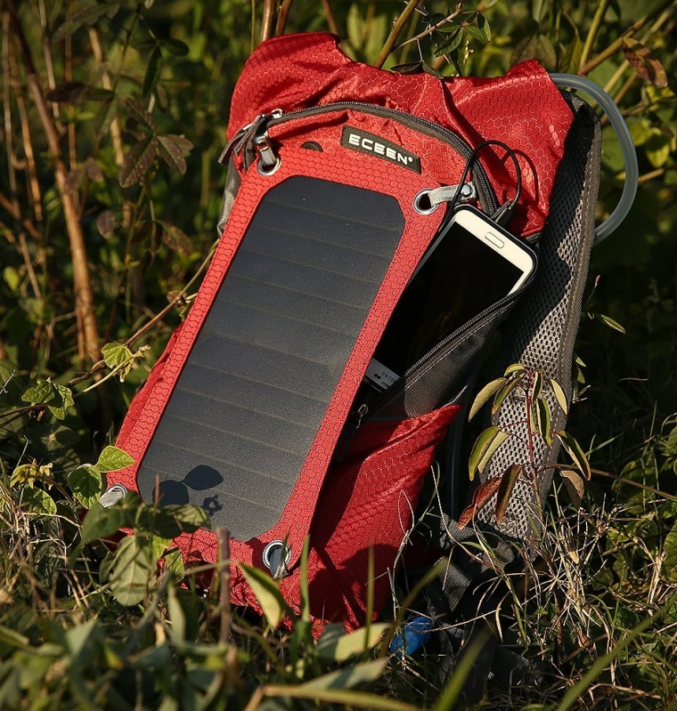 Hydration PackHydration backpack+Solar Charger Bag
