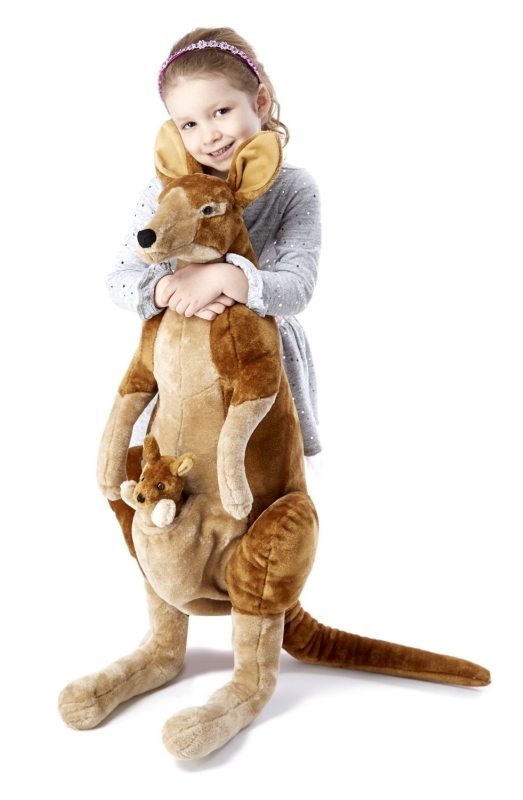 Kangaroo and Joey Plush