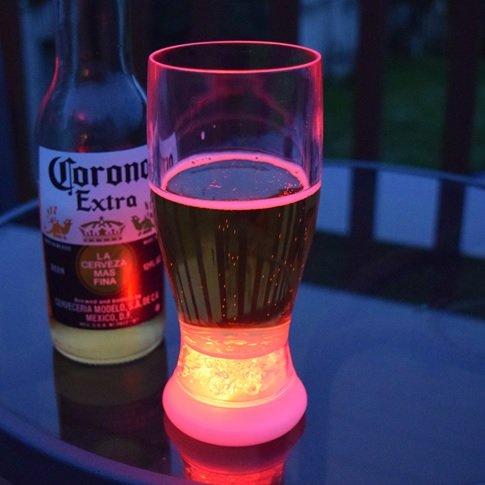 LED Light up Drinking Glass