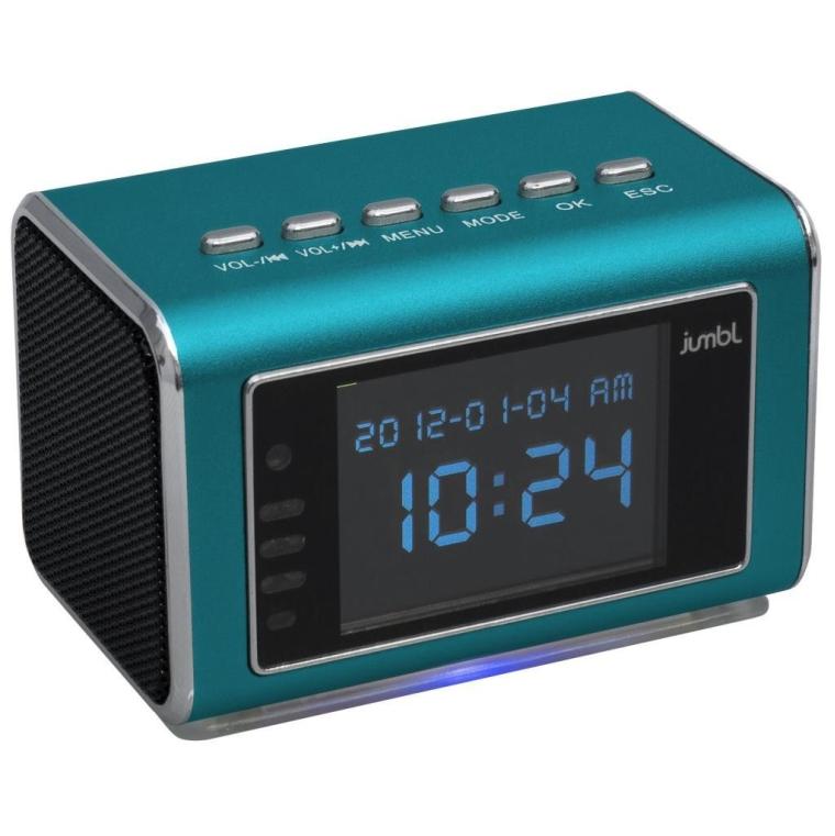 Mini Hidden Spy Camera Radio Clock