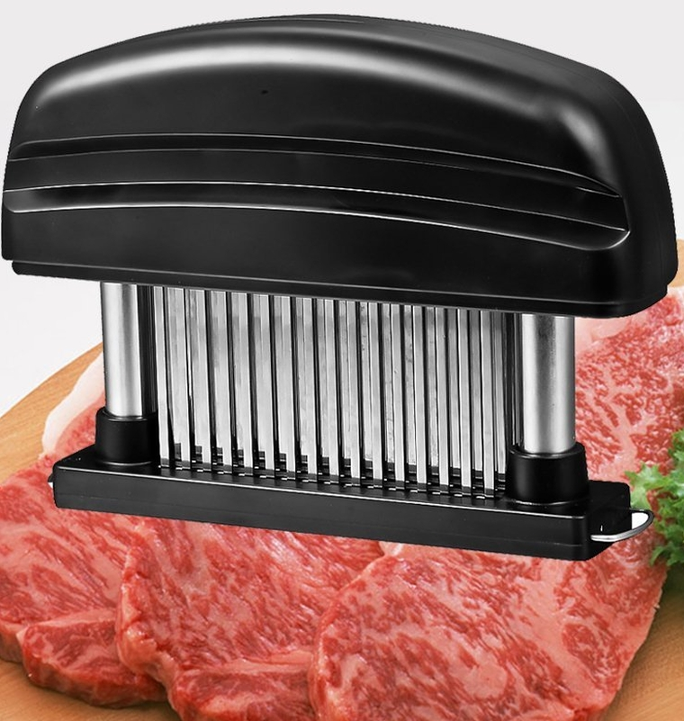 Mudder Detachable Grade 48 Stainless Steel Blades Meat Tenderizer Kitchen Tool & Knife