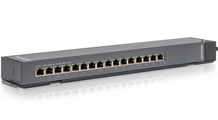 Netgear ProSAFE 16-Port Gigabit Click Switch