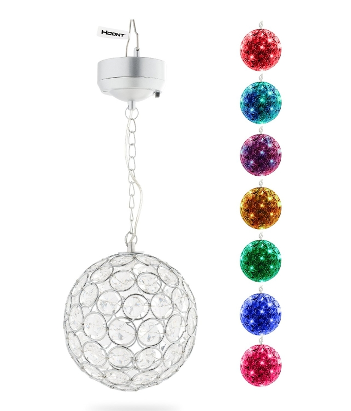 Outdoor Hanging Decorative Sparkling Crystals