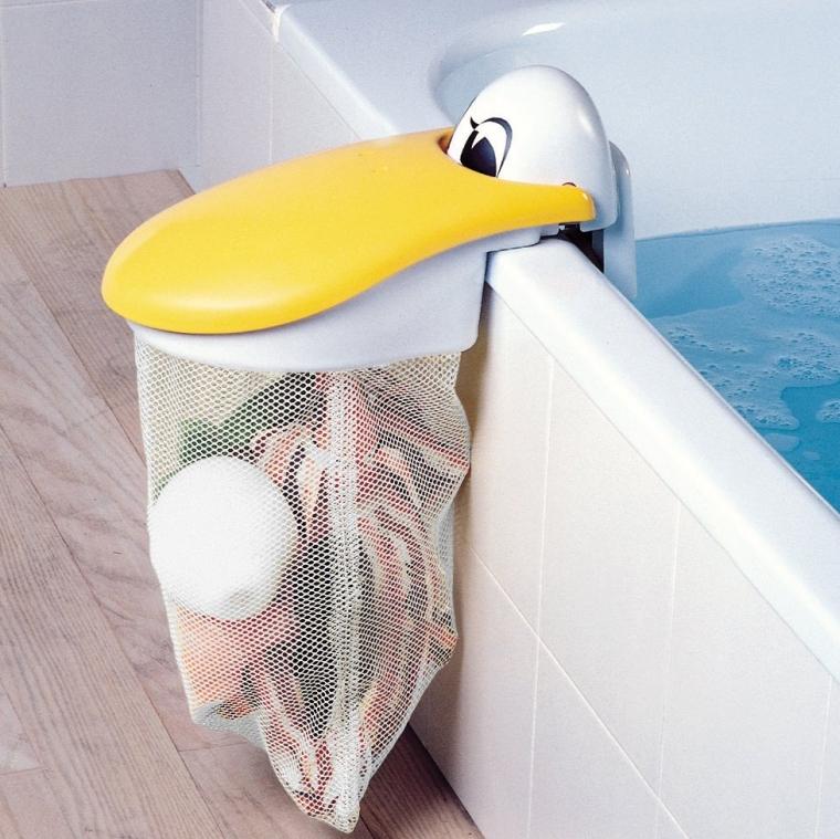 Pelican Bath Toy Storage Pouch  Bath Toy Organizer