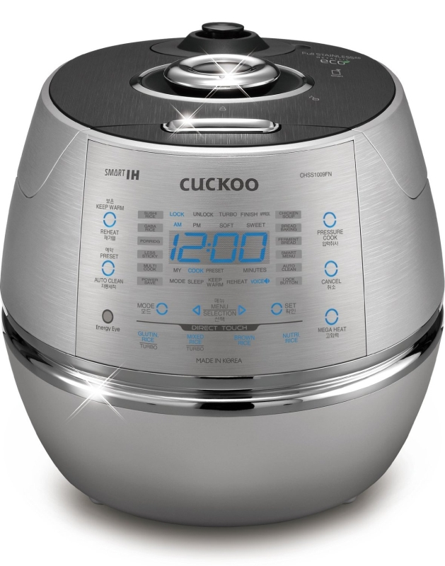Pressure All Stainless Eco-Friendly Rice Cooker