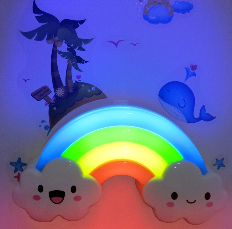 Rainbow LED Night Light Lamp