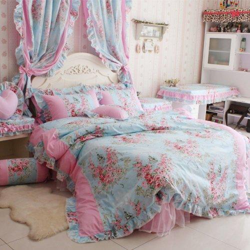 Romantic Rose Print Bedding Sets