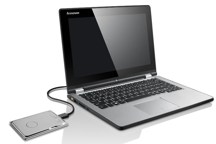 Seagate Seven 500GB Portable External Hard Drive