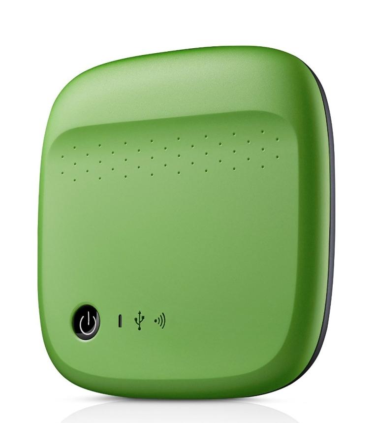 Seagate Wireless Mobile Portable Hard Drive Storage