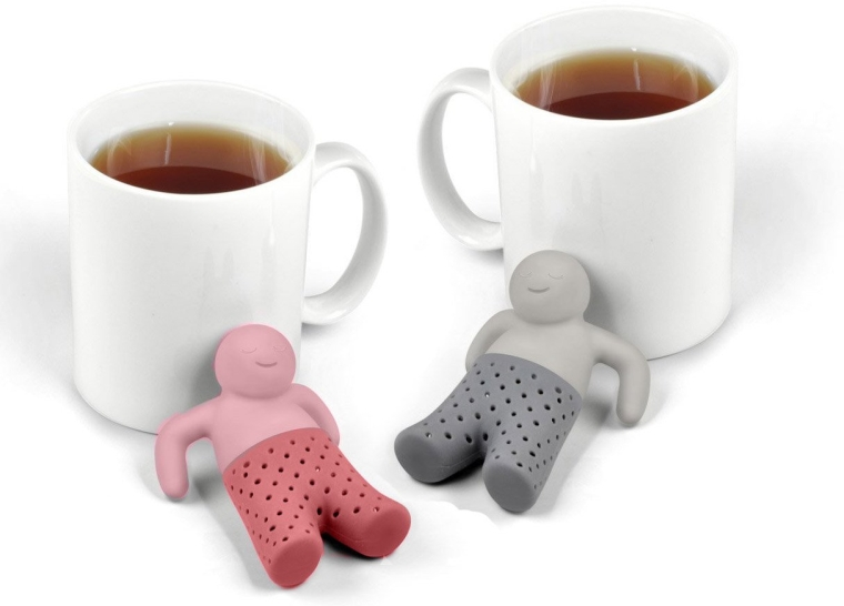 Silicone Mr and Mrs Tea infuser