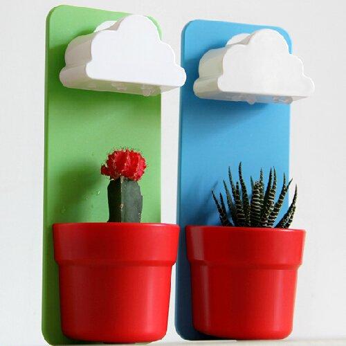 Singeek Newwest Wall Mount Rainy Pot Flower
