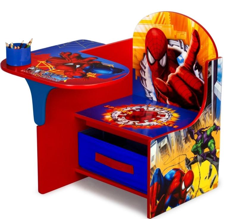 Spiderman Chair Desk with Storage Bin