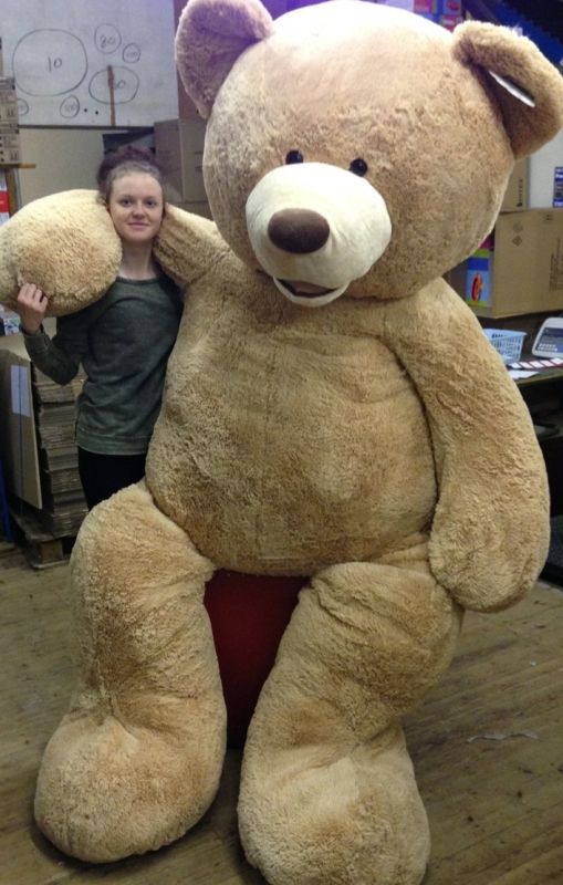 Teddy Bear 8 Foot Stuffed Plush Animal Toy Gigantic Large