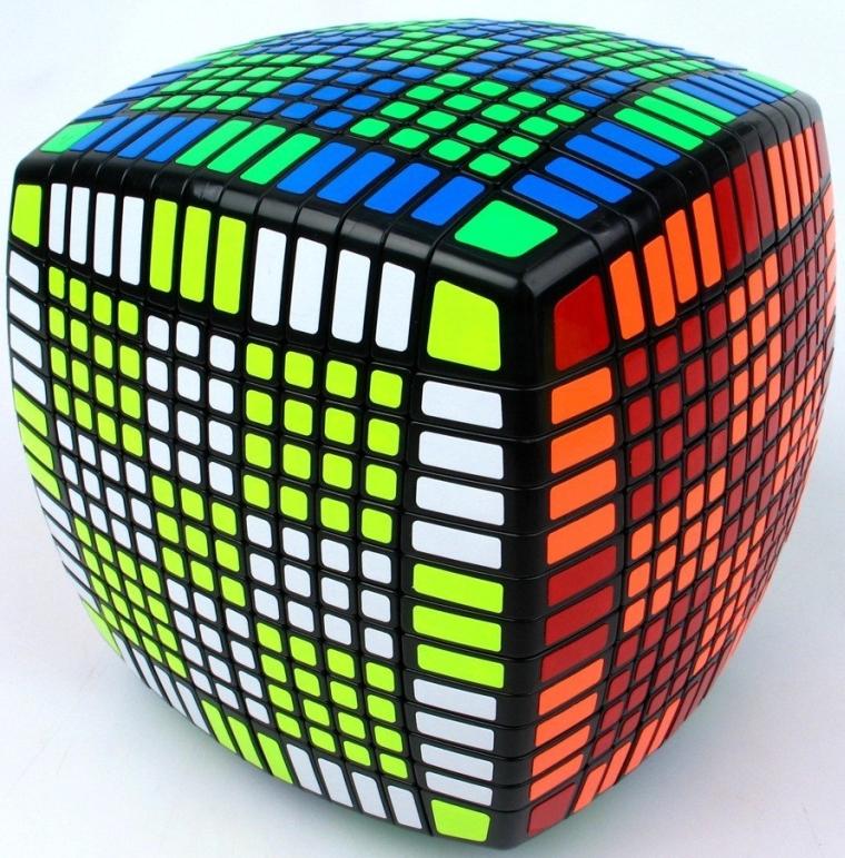 Twist Puzzle Black Color