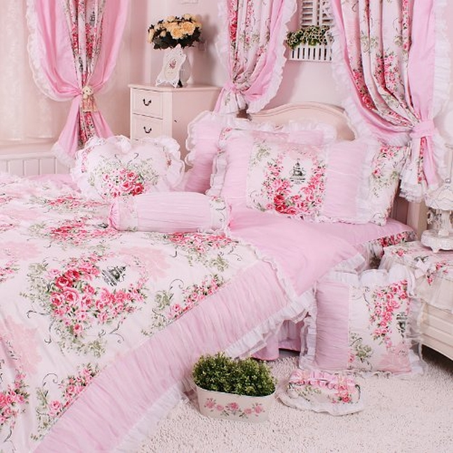 romantic bedding set