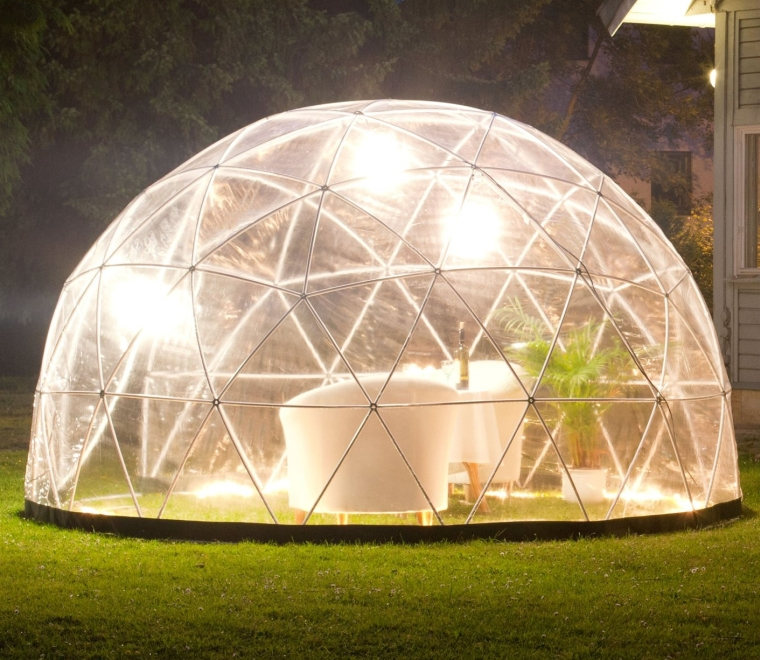 garden igloo pavilion. Black Bedroom Furniture Sets. Home Design Ideas