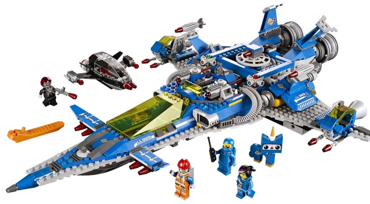 Lego movie Benny spaceship