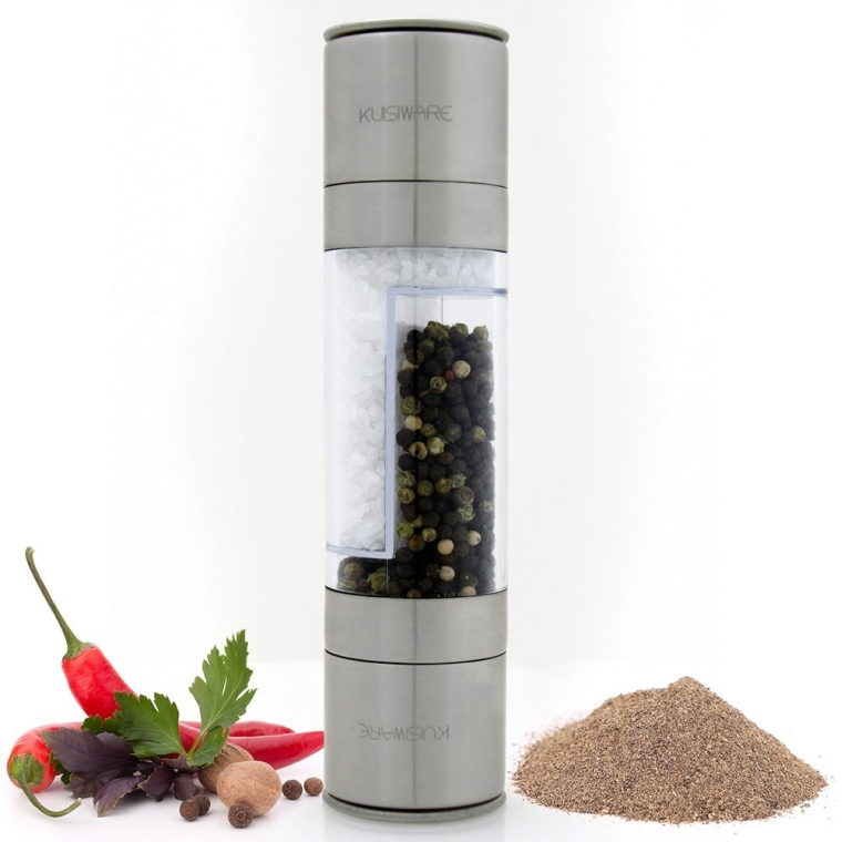 2-in-1 Salt and Pepper Grinder Set