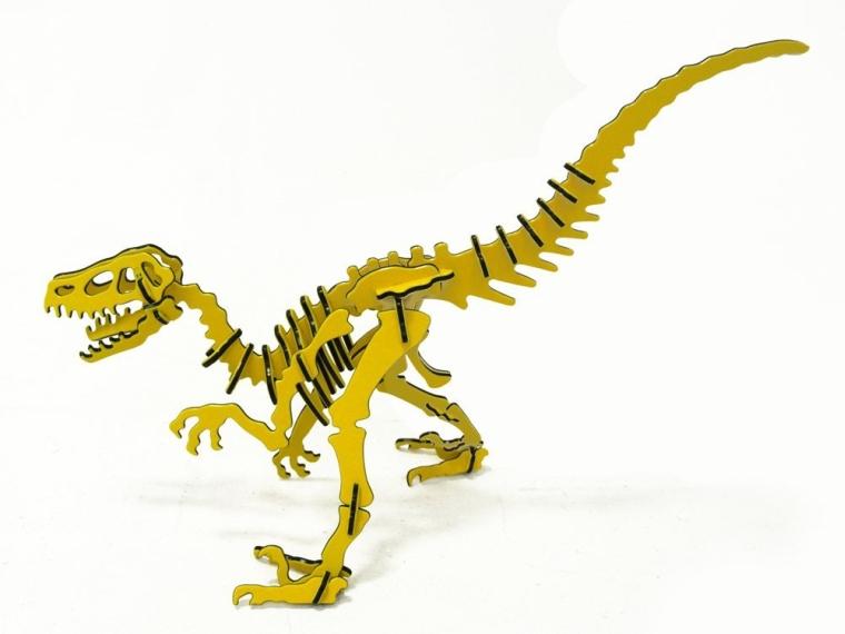 3D Velociraptor Dinosaur Puzzle