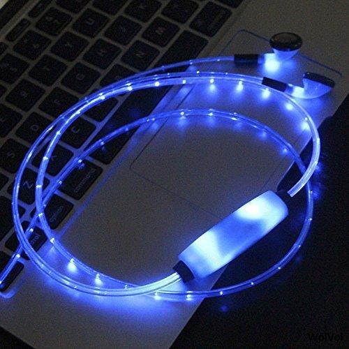 LED Flashing Lights In-ear Headphone Earphones