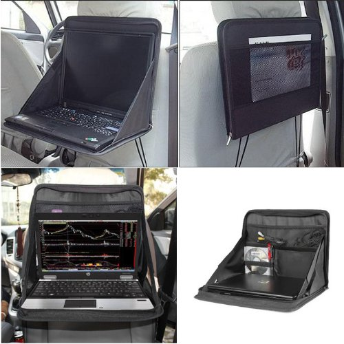 Car Auto Laptop Holder Tray Bag Mount Back