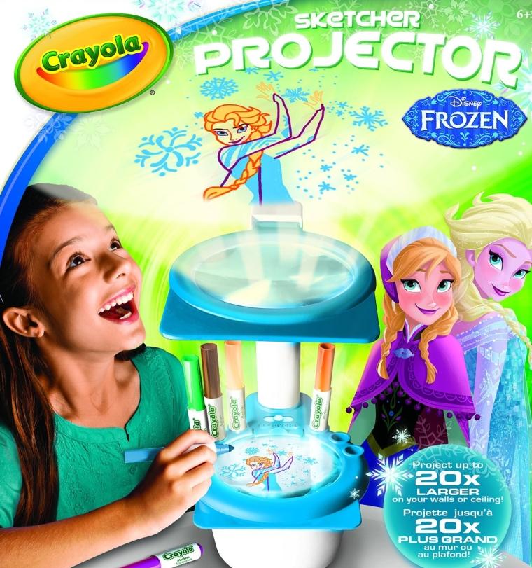 Crayola Frozen Sketcher Projector
