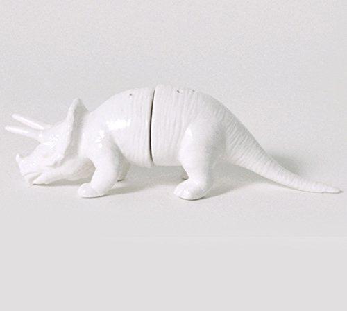 Dinosaur Tribe Triceratops Salt Pepper Shakers