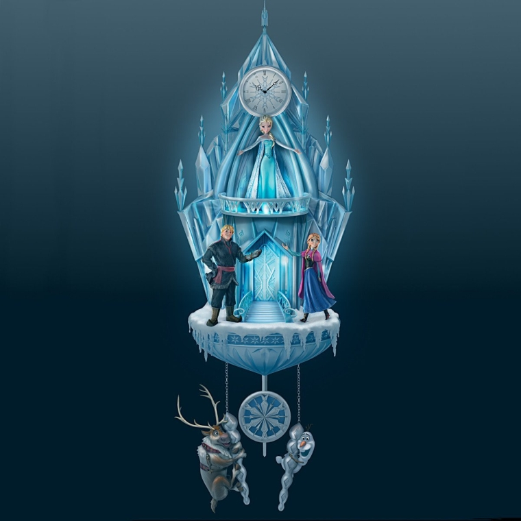 Disney Frozen Illuminated Cuckoo Clock