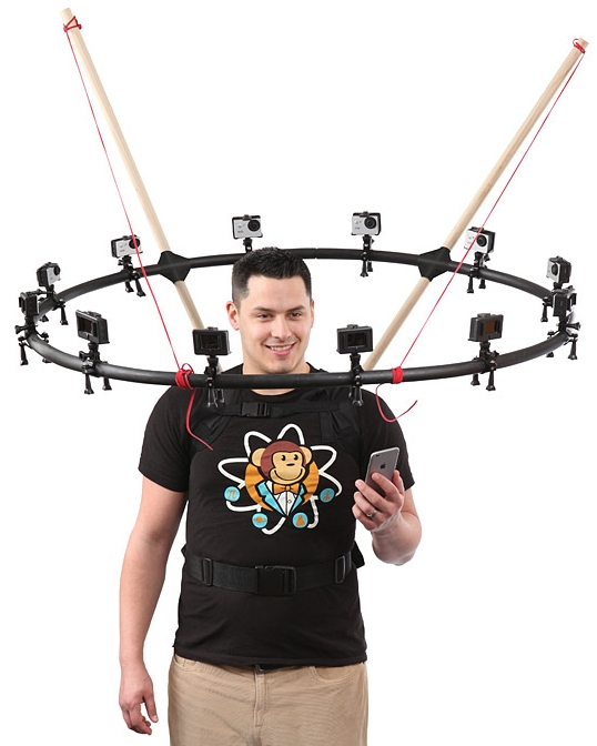 Do It YourSelfie 360° Selfie Rig