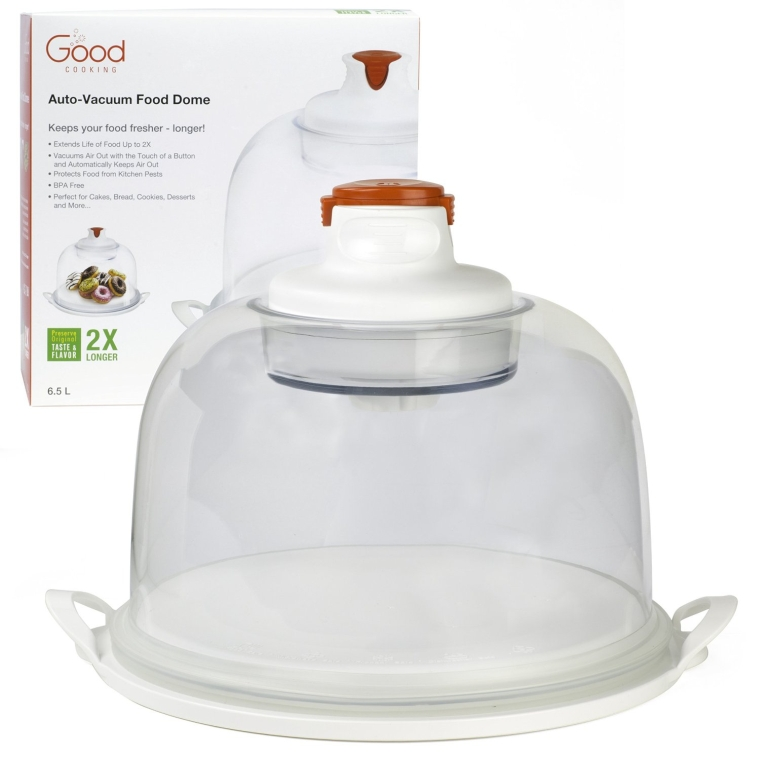 Electronic Smart Food Dome and Cake Plate
