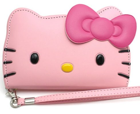 Hello Kitty 3D Wallet Case for Apple iPhone 6