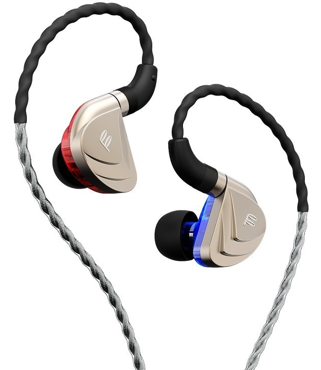 High-End Triple-Driver Hybrid 2 Balanced Armature+Dynamic In-Ear HiFi Earphones